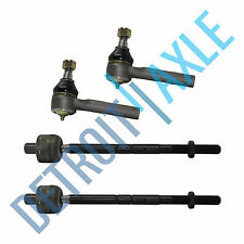 Brand New 4pc Kit - Both Inner & Outer Tie Rod End for Ford Mercury Mazda Trucks