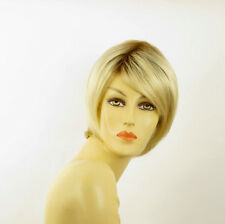 women short wig very clear golden blond ALINE ys