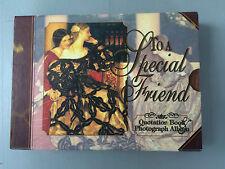 """To a Special Friend"" Montague House Hardback Quotation Book & Photograph Album"