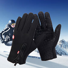 Touch Screen Windproof Waterproof Outdoor Sport Gloves Men Women Winter Gloves