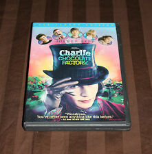 Charlie and the Chocolate Factory (DVD, 2005, Full Frame) LIKE DISNEY