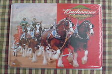 Budweiser Beer Tin Metal Sign Painted Poster Wall Decor Art Shop Pub Hobby Home