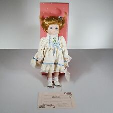 """Bradley's Collectible Doll """"BABS"""", w/Box and COA, #PTD-6, Approx. 13"""" tall"""