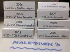 8 x NIOB Schleifen - Umkarton von 2003 bis 2010 - NEUWERTIG  - SELTEN   !