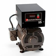 American Rotary Phase Converter AR15F 15 HP 1 - 3 Three PH Heavy Duty HD CNC USA