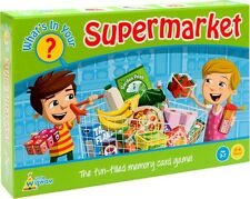 What's In Your Supermarket? Shopping List Memory Card Game by Little Wigwam