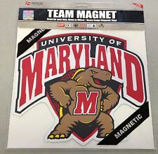 "Maryland Terps 12"" Car Truck Auto Team Logo Magnet  NEW NCAA"