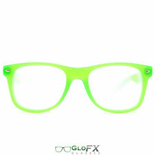 GloFX Ultimate Diffraction Glasses – GLOW In The Dark Green Frame Best Selling