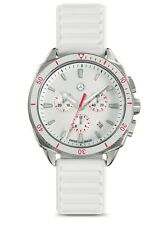 origin Mercedes Benz Chronograph Damen Lady Uhr Armbanduhr weiß by Swiss made®