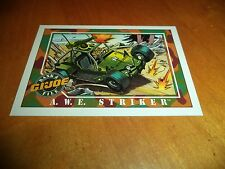 A.W.E. Striker # 13 - GI Joe Series 1 Impel Hasbro 1991 Base Trading Card