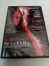 "DVD ""A 20 PASOS DE LA FAMA"" PRECINTADO SEALED MORGAN NEVILLE STING SPRINGSTEEN"
