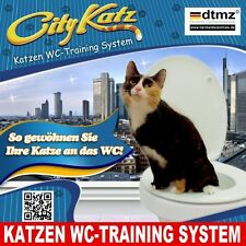 City Katz ® WC-Training System * Lettiera Gatti * senza TOILETTE lettiera per gatti!
