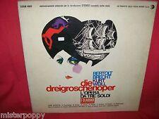 B. BRECHT KURT WEILL L'opera da tre soldi LP 1967 ITALY MINT- First Pressing