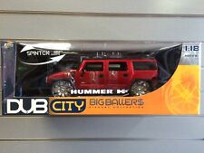 Jada Toys Dub City Big Ballers Hummer H2 1:18 scale 2004