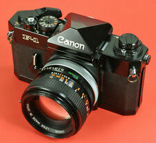 Beautiful Canon F1n SLR Film Camera With Lens