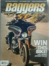 Baggers July 2016 Win this Bike Lost Highway Giveaway Bagger FREE SHIPPING sb