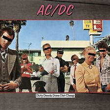 AC/DC Dirty Deeds Done Dirt Cheap Vinyl LP NEW & SEALED