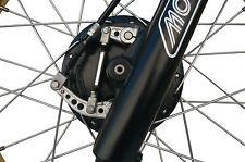 New CNC Front Brake Rod - Yamaha - Vintage Motocross - BLACK Anodized Finish
