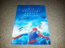 "THE AMAZING SPIDER-MAN 2 PP SIGNED 12"" X 8"" A4 PHOTO POSTER ANDREW GARFIELD"