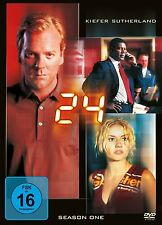 24  - SEASON 1 (Kiefer Sutherland) 6 DVDs NEU+OVP