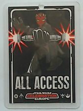 Star Wars Celebration Europe All Access show pass 2007