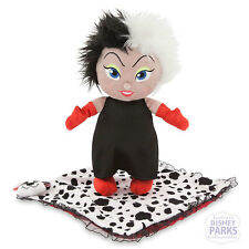Disney Parks Disney's Babies Cruella De Vil Baby Doll Plush and Blanket