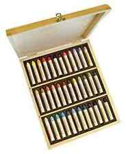 Sennelier Oil Pastel Wooden Box Set - 36 Assorted