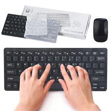 2.4G Multimedia Wireless Mouse and Keyboard Set for Desktop Laptop PC UK Hot