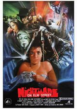 A NIGHTMARE ON ELM STREET 24X36 inch Horror Movie POSTER Freddy MQ11