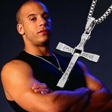 New Gift Unisex' Men Stainless Steel Cross Pendant Necklace Silver Chain Fashion