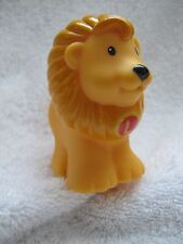 "LION ""L"" Fisher Price Little People Alphabet ZOO Replacement Animal A-Z"