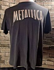 """VINTAGE RARE METALLICA T-SHIRT """"DAMAGE INC"""" Faded and Distressed Rock Collect"""