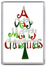 Merry Christmas Xmas Fridge Magnet 04