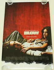 BLOW 27X40 DS MOVIE POSTER ONE SHEET NEW AUTHENTIC FOIL MYLAR RARE