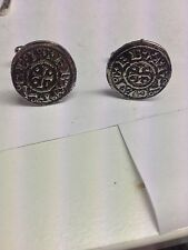 Viking Coin SIDE B WE-VCPP English Pewter Cufflinks Handmade