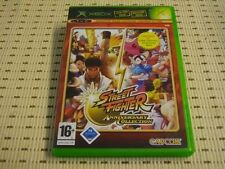 Street Fighter Anniversary Collection para Xbox * embalaje original *
