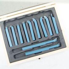 11011810 11Pc Engineer Lathe Boring Milling Cutting Turning Tool Set 10MM