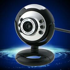 HD 12.0MP 6 LED USB Webcam Camera with Mic Night Vision for Desktop PC Laptop TA