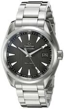 New Omega Seamaster Aqua Terra Quartz Grey Dial Men's Watch 231.10.39.60.06.001