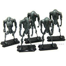 5pcs NEW Movie Toy STAR WARS saga legends SUPER BATTLE DROID SL-28 Action Figure