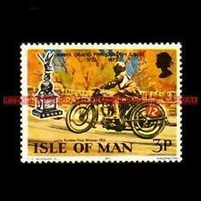 RANDLES Leslie MANX GRAND PRIX Isle of MAN 1923 Timbre Poste Moto