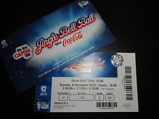 Jingle Bell Ball 2015 - Unused Ticket and Wallet