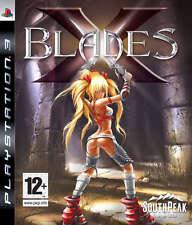 X Blades ~ Ps3 (en Perfectas Condiciones)
