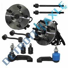 Brand New 10pc Complete Front Suspension Kit for 2002 - 2004 Jeep Liberty ABS