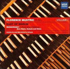 FLORENCE MUSTRIC PLAYS EAST OF BERLIN, VOL. 1 (NEW CD)