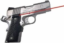 Crimson Trace LG-404 FRONT ACTIVATION LASERGRIPS for 1911 Compact - LG404 BLACK