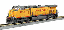 HO Kato UNION PACIFIC GE C44-9W Standard DC w/ Ditch Lights #9632 NIB
