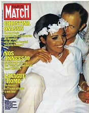 COUVERTURE DE MAGAZINE PARIS MATCH 1577 17/08/79 Christina Onassis