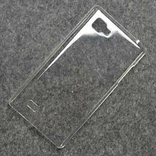 New Crystal Clear hard case DIY cover for LG Optimus 4X HD P880