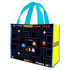PAC-MAN - REUSABLE SHOPPING TOTE / GIFT BAG - CLASSIC VIDEO GAME 69073